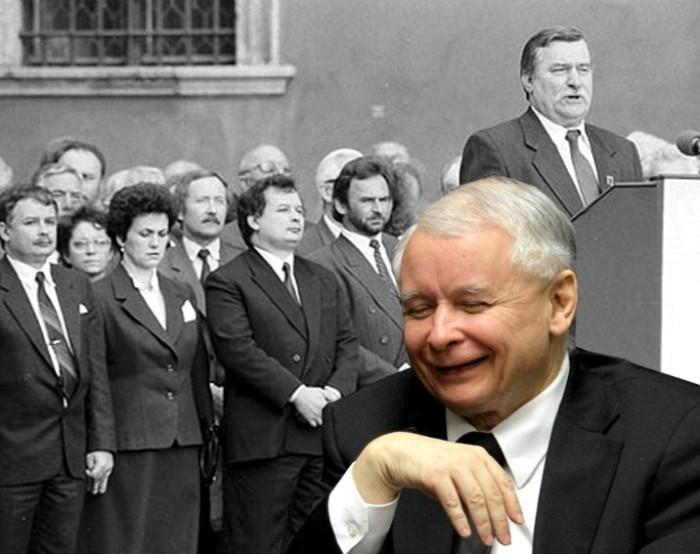 Kaczyński wyłamany